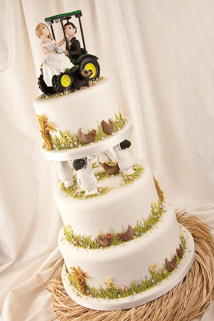 hamilton wedding cakes wedding cake for a farming let me say 15064