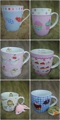 Novas canecas - New mugs by Andréa Barcellos - Hippo