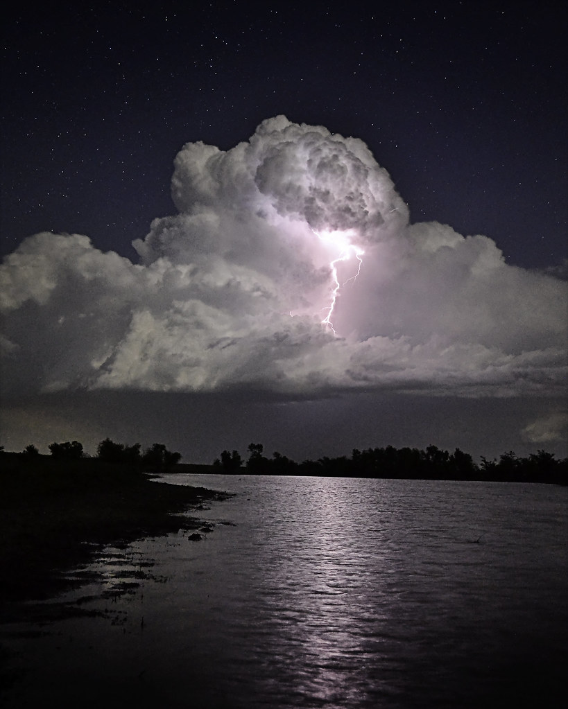 Storm Cloud | Long exposure of thunder storm developing ...