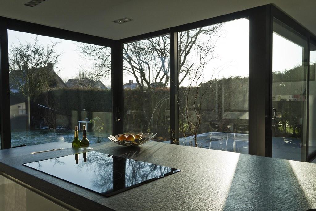 Aluminium woonveranda modern uitbouw keuken woonveranda flickr - Keuken verandas ...