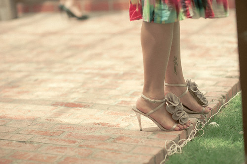 Pretty ruffle heels | by AliceLoh