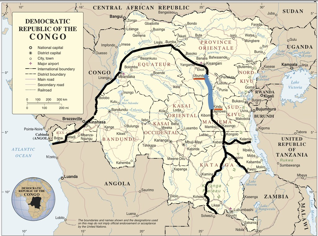 All Sizes Congo River Map Flickr Photo Sharing - World river map download