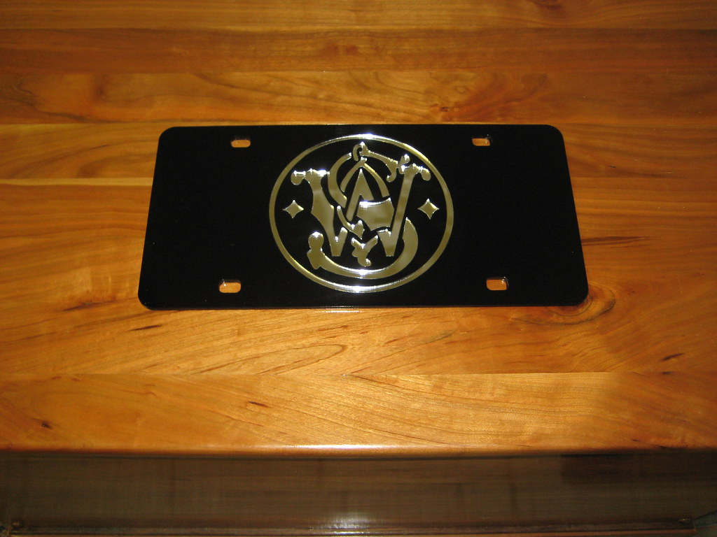 Smith And Wesson License Plate Smith And Wesson Tag Is