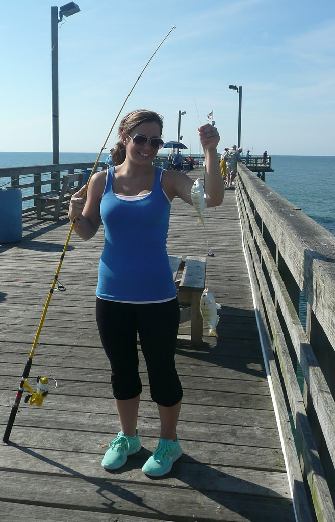 Taylor caught the most seaview fishing pier topsail for Seaview fishing pier