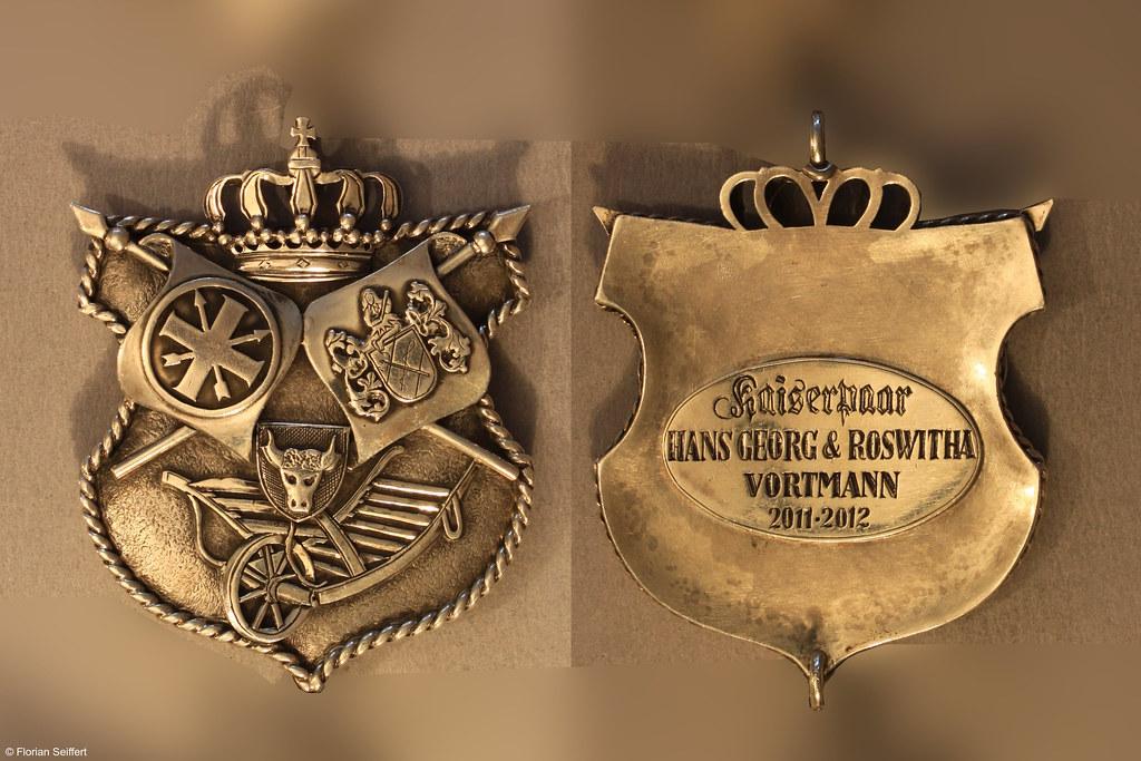 Koenigsschild Flittard von vortmann hans georg aus dem Jahr 2011