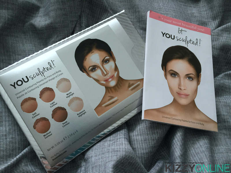 it Cosmetics You sculpted Universal Contouring Palette for Face and Body
