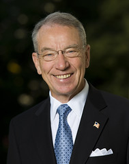 Senator Grassley was critical (again) in helping remove a loophole that would have meant less transparency for patients and consumers and less accountability for doctors, drug companies, and medical device manufacturers. (Flickr chuckgrassley)