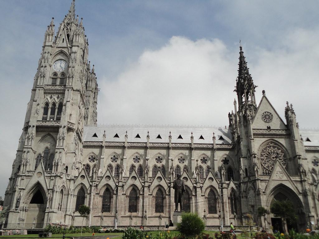 Basílica de Quito - Ecuador | Otra gráfica de la Basílica ... | 1024 x 768 jpeg 306kB