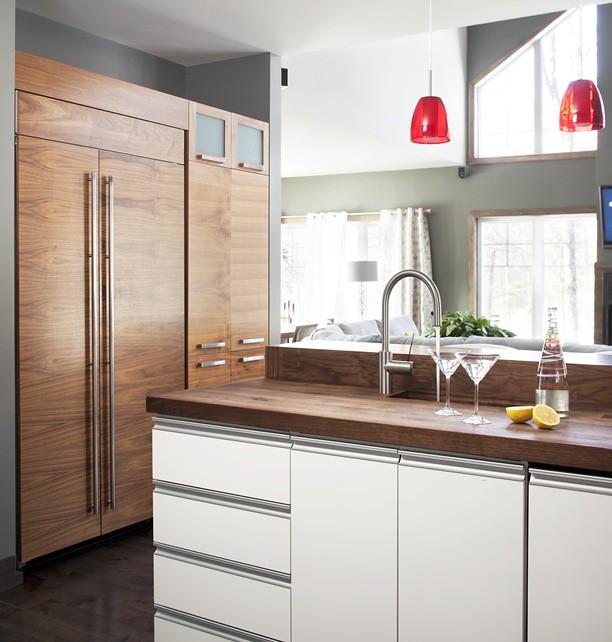 cuisine moderne armoires de cuisine de style moderne la m flickr. Black Bedroom Furniture Sets. Home Design Ideas