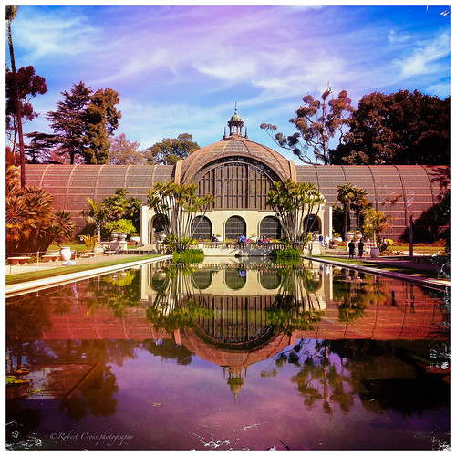 Balboa Park Botanical Building Hipstamatic Reflection | by RobertCross1 (off and on)