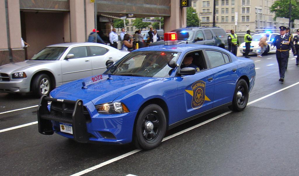 Michigan State Police Michigan State Police Dodge