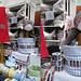 Baenderei Kafka stall with herzensart ribbons