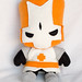 stuffed stuff: Knights from Castle Crashers