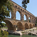 Pont du Gard from the River