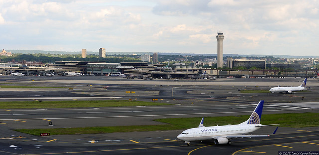 United Airlines Jets At Newark Liberty International