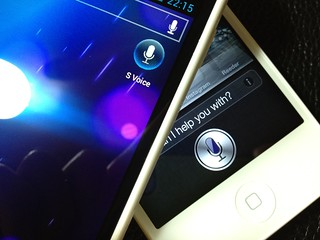 Siri and S-Voice | by LJR.MIKE
