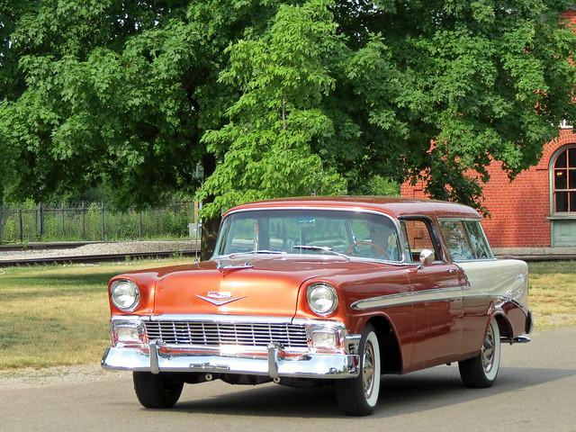 1956 Chevrolet Bel-Air Nomad | Flickr - Photo Sharing!