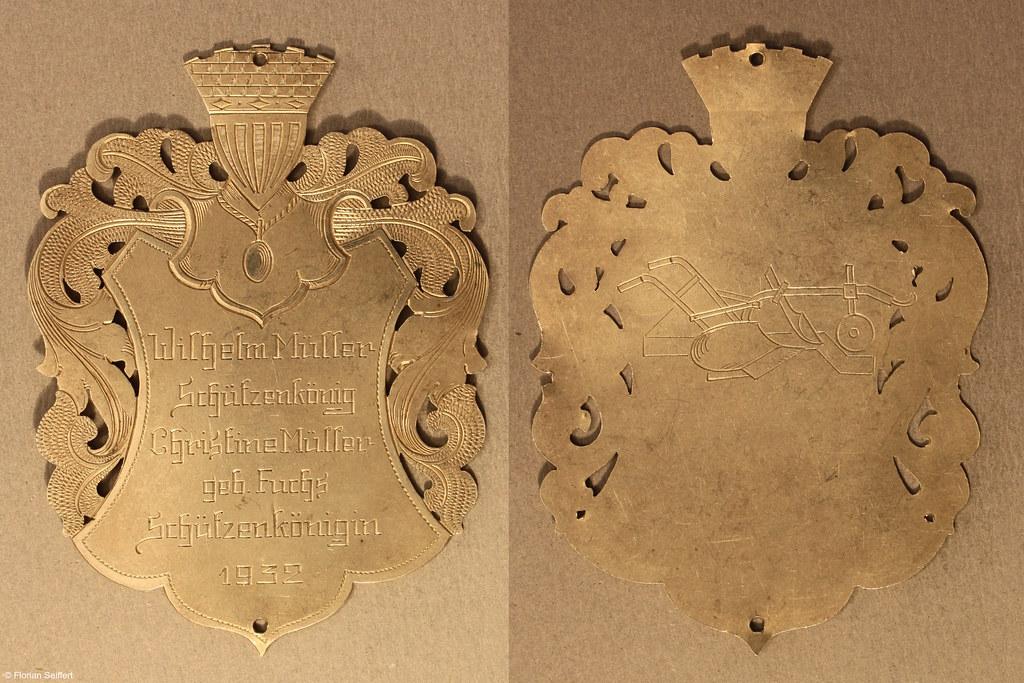 Koenigsschild Flittard von mueller wilhelm aus dem Jahr 1932