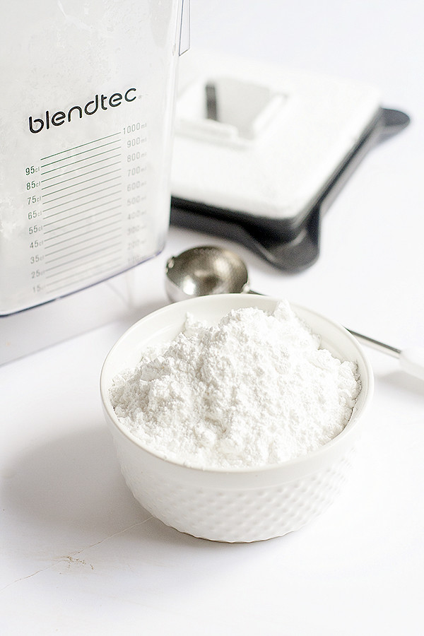 diy homemade powdered sugar