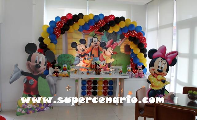 decoracao festa do mickey : Decora??o Clean Festa Infantil Turma do Mickey Flickr ...