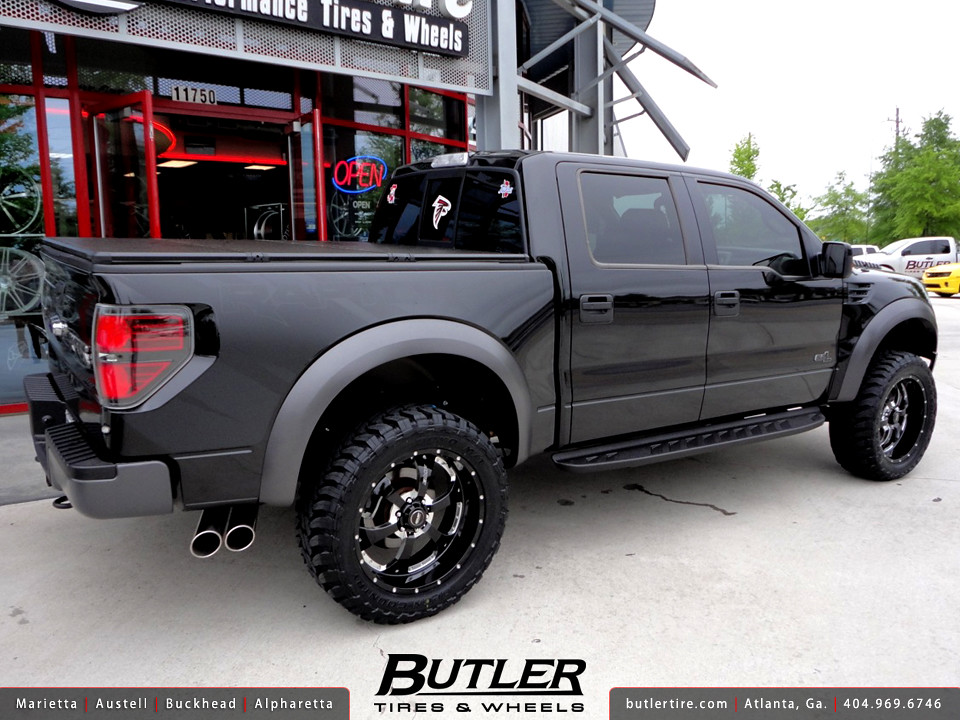Ford F 150 Svt Raptor With 22in Bmf Novakane Wheels 35in