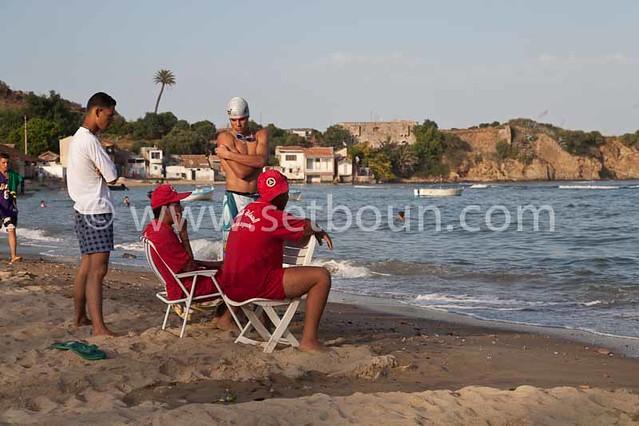 : caroube beach annaba algeria / algerie annaba. plage de la caroube