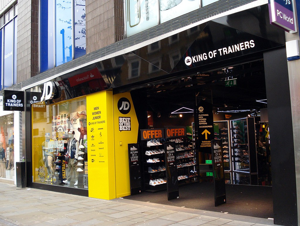 Jd Sports King Of Trainers Croydon London Cr0 In The