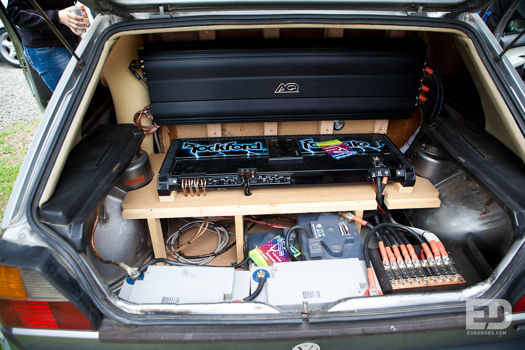 golf mk2 sound system eurodubs automotive apparel flickr. Black Bedroom Furniture Sets. Home Design Ideas