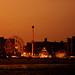 Coney Island Beach at Sunset - Brooklyn - New York City