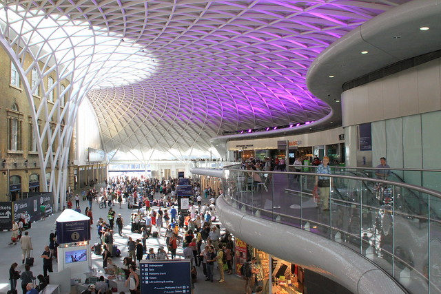 London's Kings Cross station