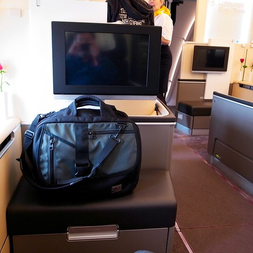 Empire Builder on Lufthansa A380 | by TOM BIHN