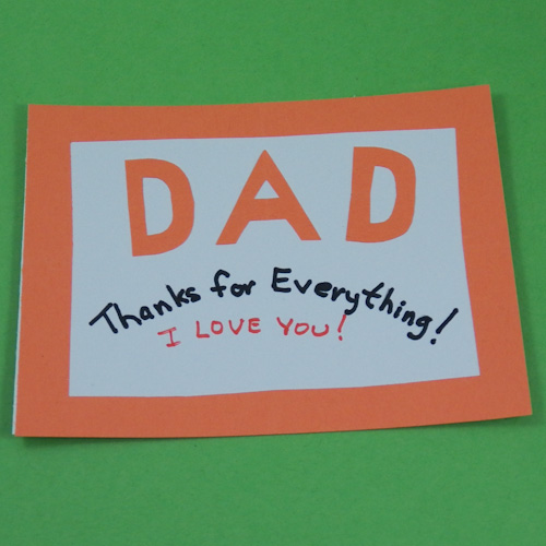 Cool handmade fathers day card ideas