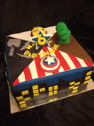 The Avengers Cake Pan