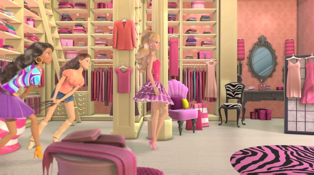 Barbie Life In The Dreamhouse Closet Princess23 26 42