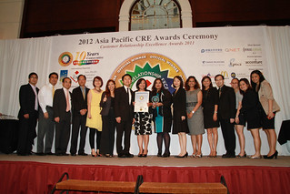 APCSC Asia Pacific CRE Awards Ceremony 2012 - Customer Relationship Excellence Awards 2011 | by QNET