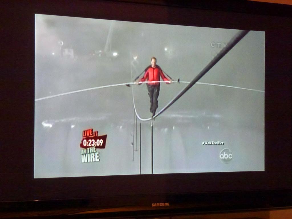 Walk The Tightrope Human Nature