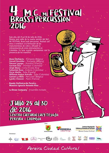 M.C. MI FESTIVAL BRASS & PERCUSSION 2016