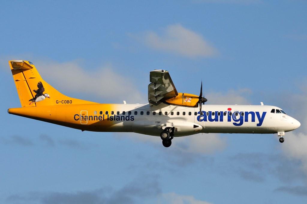 G-COBO | G-COBO Aurigny Air Services ATR72-212A Manchester ... Liam