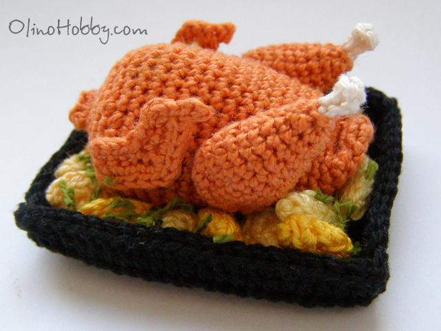 Crochet Patterns Free Food : crochet food