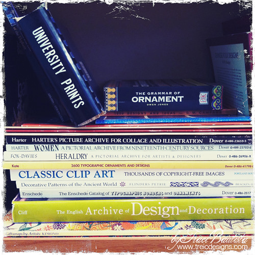 a few reference books in my collection | by treiCdesigns