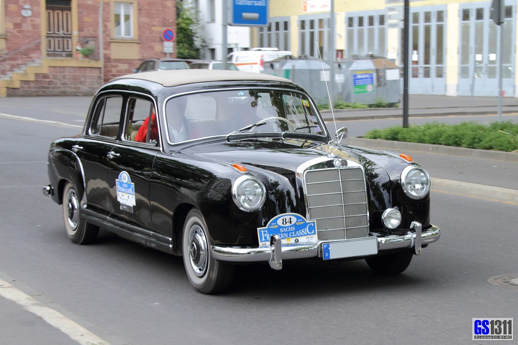 1954 1956 mercedes benz w 180 i 220 limousine the for 1956 mercedes benz