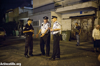 Night of attacks against African refugees, Tel Aviv, Israel, 23.05.2012 | by activestills
