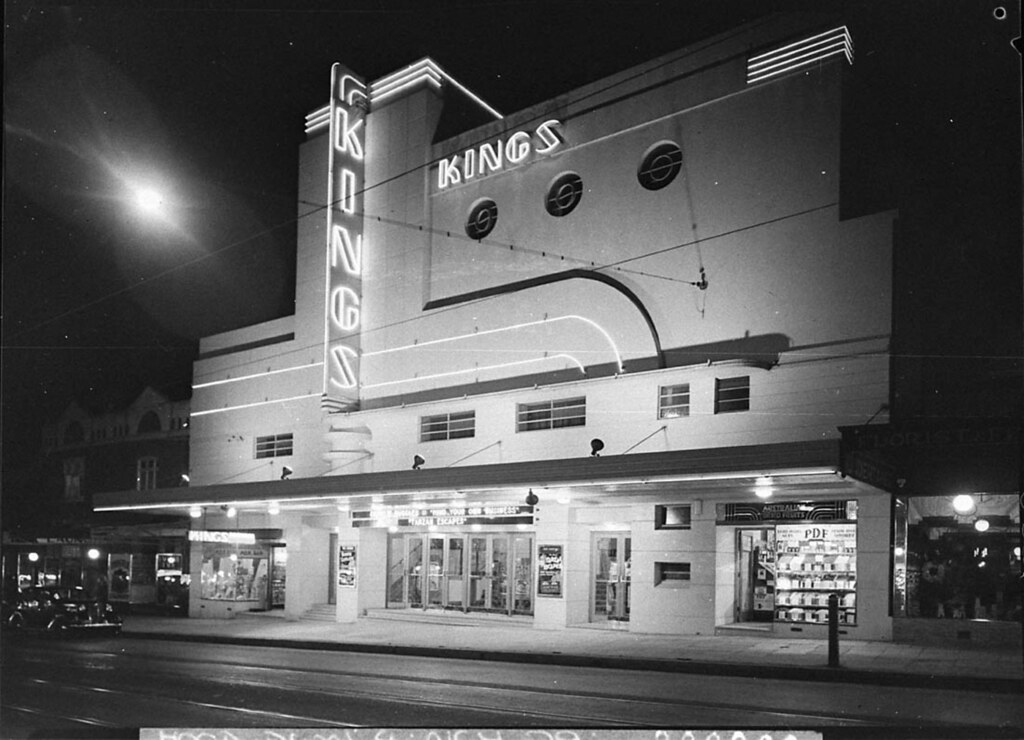 Kings Theatre At Marrickville Sydney Night Shot Showing