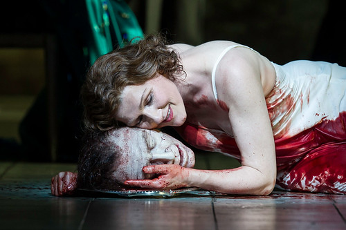 Angela Denoke as Salome in Salome © Clive Barda/ROH 2012 | by Royal Opera House Covent Garden