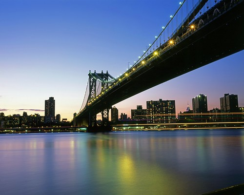 Manhattan Bridge from Brooklyn Bridge Park | by Shawn Hoke