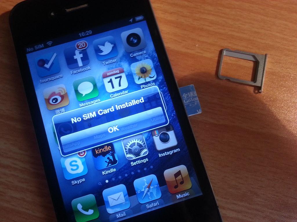 Iphone  Sim Karte Format