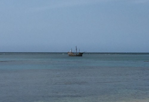 Las Terrenas Beach - Ship
