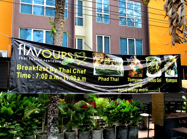 Flavours Thai Kitchen open for breakfast