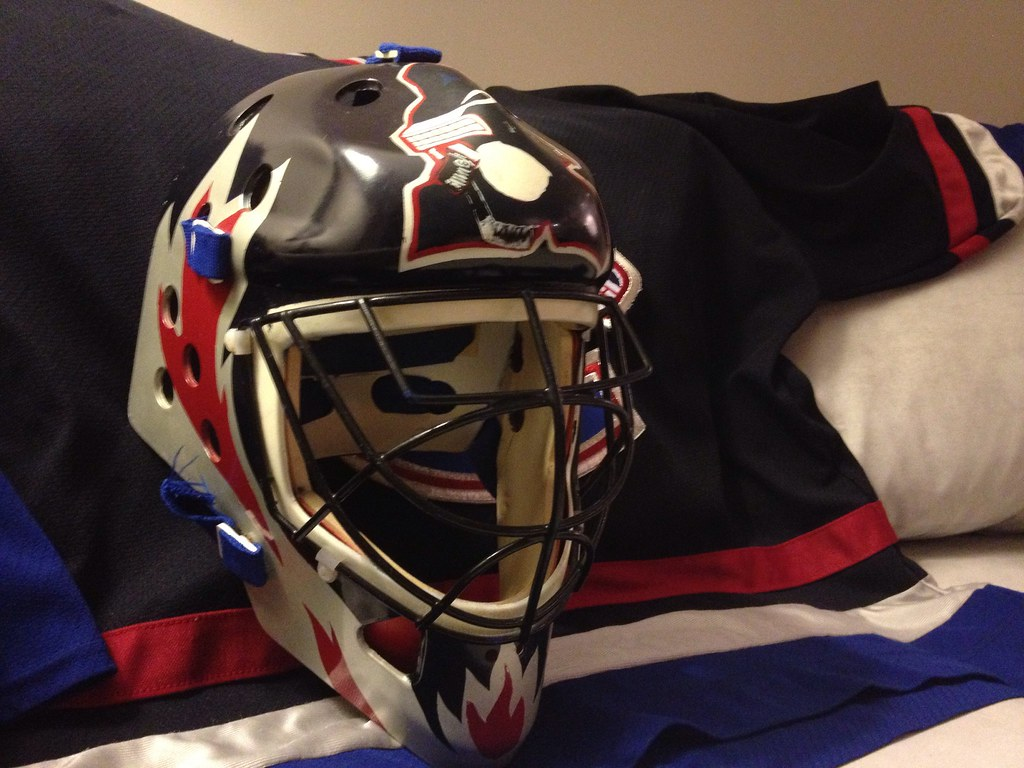 Brodeur Goalie Mask Ball Hockey Goalie Mask