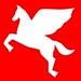 Zorral Bike Co. Pegasus Logo Red